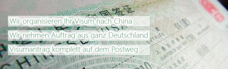 chinavisum, Einladungen